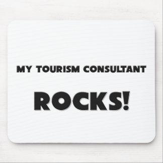 MY Tourism Consultant ROCKS Mouse Mat