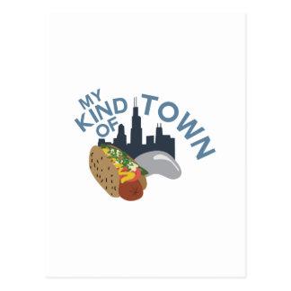 My Town Postcard
