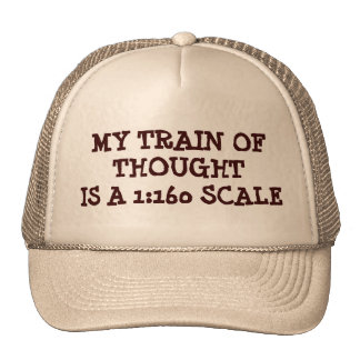 My Toy Train of Thought Trucker Hat