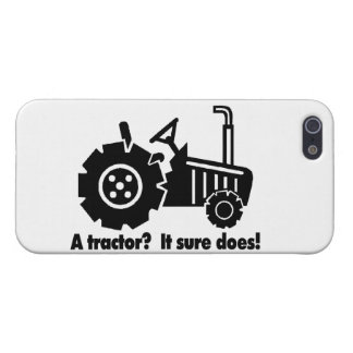 My Tractor Is A Chick Magnet Case For iPhone SE/5/5s
