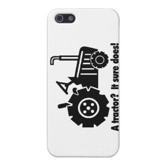 My Tractor Is A Chick Magnet Cover For iPhone SE/5/5s