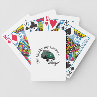 My Tractors Sexy Bicycle Playing Cards