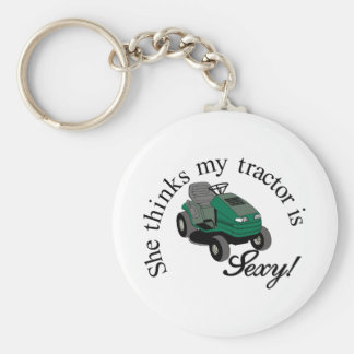 My Tractors Sexy Keychain