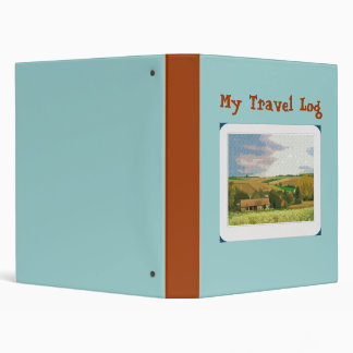 My Travel Log Binder
