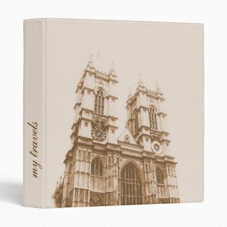 'My travels' binder