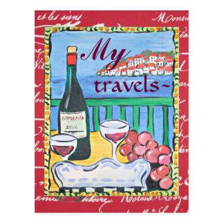 My Travels Postcard
