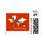 My Travels Stamp