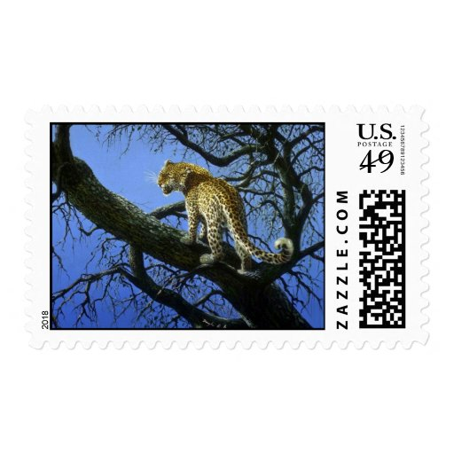 My tree, Leopard Postage Stamps