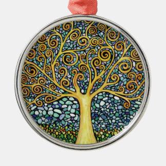 My Tree of Life Metal Ornament