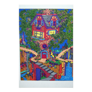 My Treehouse 132 by Piliero Customized Stationery