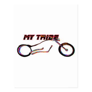 My Tribe Chopper The MUSEUM Zazzle Gifts Postcard