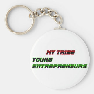 My Tribe Young Entrepreneurs The MUSEUM Zazzle Gif Basic Round Button Keychain