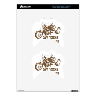 my trike my rules xbox 360 controller decal