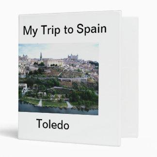 My Trip to Spain Avery Binder