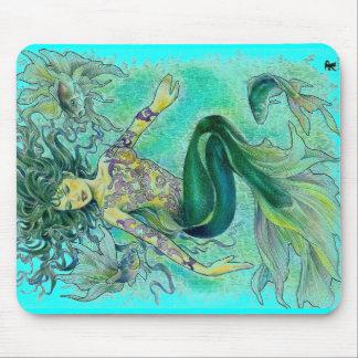 my tropical fantasia mouse pad