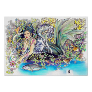 my tropical fantasia print