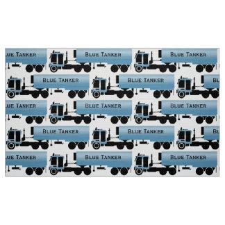 My Trucking Company Novelty Print Fabric
