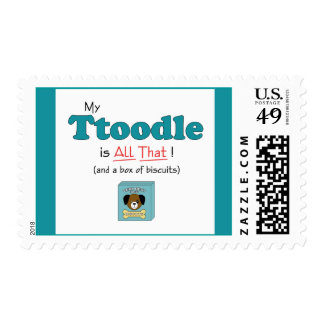 My Ttoodle is All That! Postage