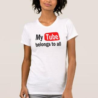 My Tube belongs Hilarious Aston's Design YouTube T Shirt