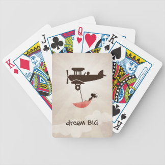 My Tuesday Dream - Umbrella Fantasy Bicycle Playing Cards