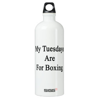 My Tuesdays Are For Boxing SIGG Traveler 1.0L Water Bottle