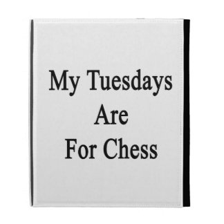 My Tuesdays Are For Chess iPad Cases
