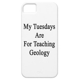 My Tuesdays Are For Teaching Geology iPhone SE/5/5s Case