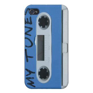 MY TUNES vintage cassette tape iphone 4 4s case