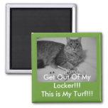 My Turf Locker magnet