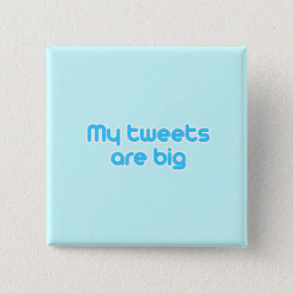 My tweets are big button