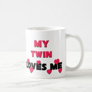 My Twin Loves Me Classic White Coffee Mug