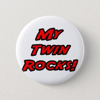 My Twin Rocks Pinback Button