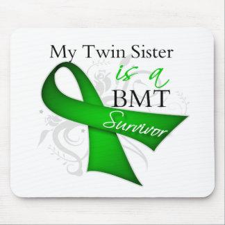 My Twin Sister is Bone Marrow Transplant Survivor Mouse Pad