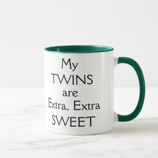 My TWINS... and I have a sweet tooth! Mug