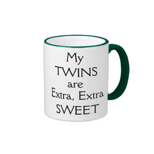 My TWINS... and I have a sweet tooth! Mugs