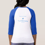 My Twitter Username (front+back) Tee Shirt