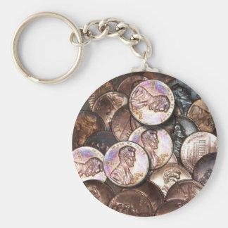 My Two Cents Worth Basic Round Button Keychain