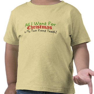 My Two Front Teeth Christmas T-Shirt