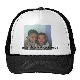 my two hearts trucker hat
