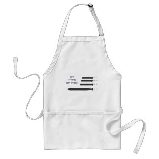 My Type of Fish Adult Apron