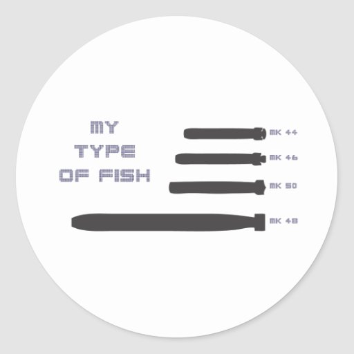 My Type of Fish Stickers
