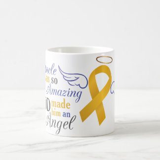 My Uncle An Angel - Appendix Cancer Coffee Mug