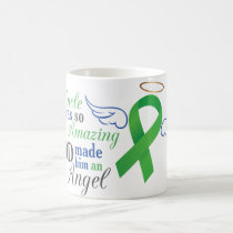 My Uncle An Angel - Bile Duct Cancer Coffee Mug