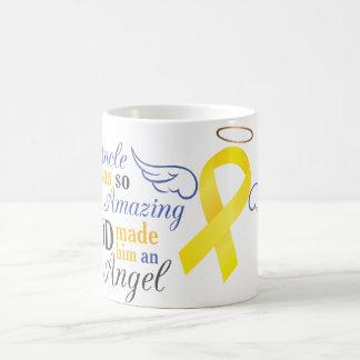 My Uncle An Angel - Bladder Cancer Classic White Coffee Mug