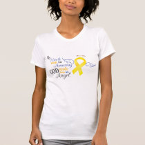 My Uncle An Angel - Bladder Cancer T-Shirt