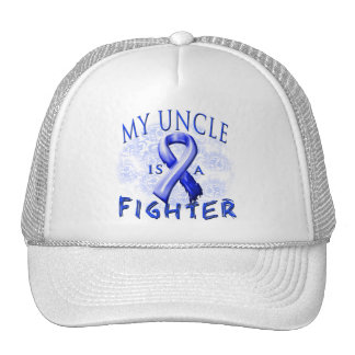 My Uncle Is A Fighter Blue Trucker Hat