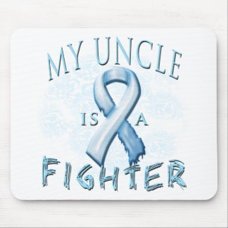 My Uncle is a Fighter Light Blue Mouse Pad