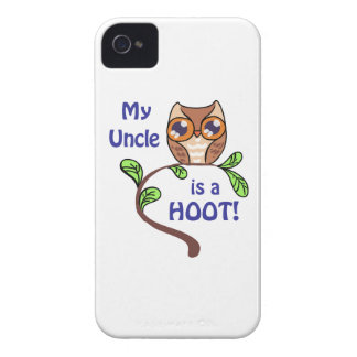 MY UNCLE IS A HOOT. iPhone 4 Case-Mate CASE