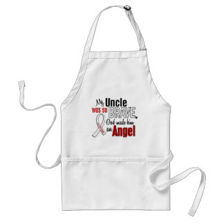 My Uncle Is An Angel Lung Cancer Apron
