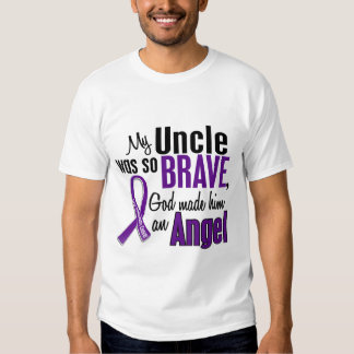 My Uncle Is An Angel Pancreatic Cancer T-Shirt